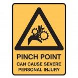 Super Safety Sticker - Pinch Point