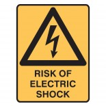Super Safety Sticker - Risk of Shock