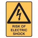 Super Safety Sticker - Risk of Shock