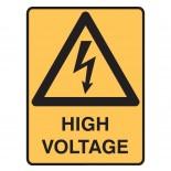 Super Safety Sticker - High Voltage