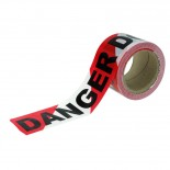 "Tapeman R/W ""Danger - Do Not Enter"" Economy Hazard Tape - 72mmx100m"