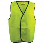 Day Vest Fluro Yellow