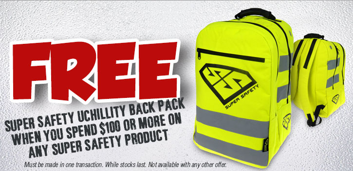 Free Super Safety UCHILLITY Cooler Bag Pack with Every Order Over $100