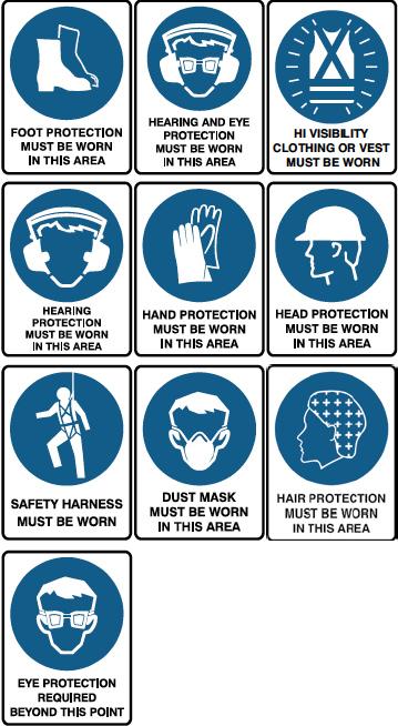 Mandatory Sign Range