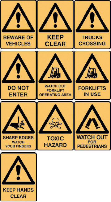 Warning Sign Range