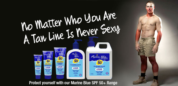 Marine Blue Sunscreen