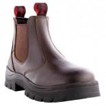 Howler Work Boots - KOKODA Slip On - Brown