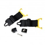 Eyres Safety Optics EYEQASR Helmet Clip w/ Strap