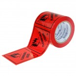 Stlyus Tapes Label Rolls - FLAMMABLE LIQUID-3 100mm x 50m