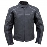 Super Safety LEATHER JACKET - Size Large