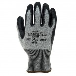 Highest rated cut level 5 resistant gloves with glass fibre  Withstand contact heat of 100°C for ≥15 sec (EN407) Lightweight, seamless liner Excellent durability Lint free and washable