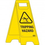 "A-Frame Sign ""Tripping Hazard"""