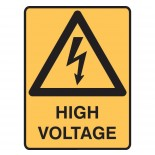 Super Safety Sticker - High Voltage