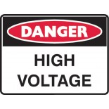 Super Safety Sticker - Danger High Voltage
