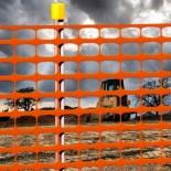 Bison Barrier Fence (Heavy Duty) - Orange 915mm x 30m