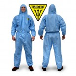 Trident SMS Triple Layer Protection Blue Disposable Coveralls